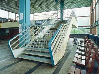Dworzec PKP w Tarnowie, fot. N. Grospierre, © BWA Galeria Miejska w Tarnowie