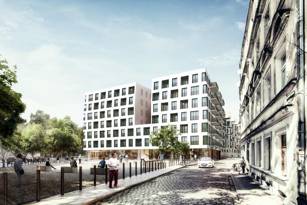Apartamentowiec we Wrocławiu