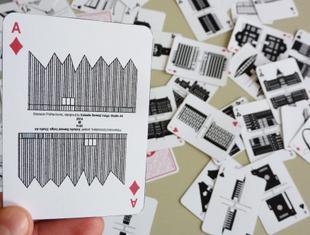 Szczecińska architektura na kartach do gry
