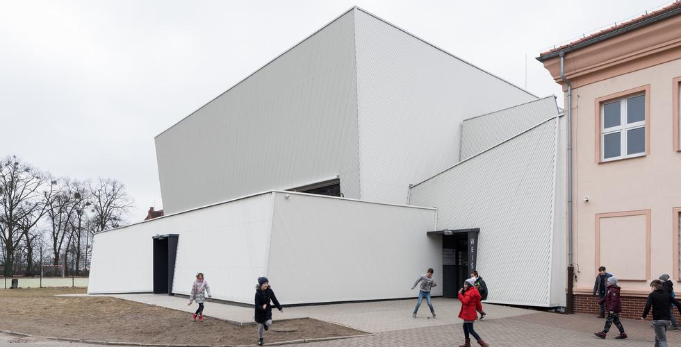 Sala sportowa w Owińskach